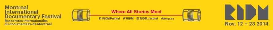 RIDM 2014 banner